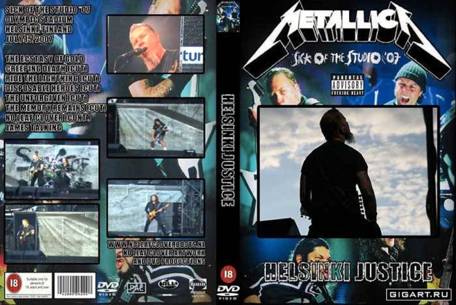 Metallica DVD Kapakları (1983-2007)