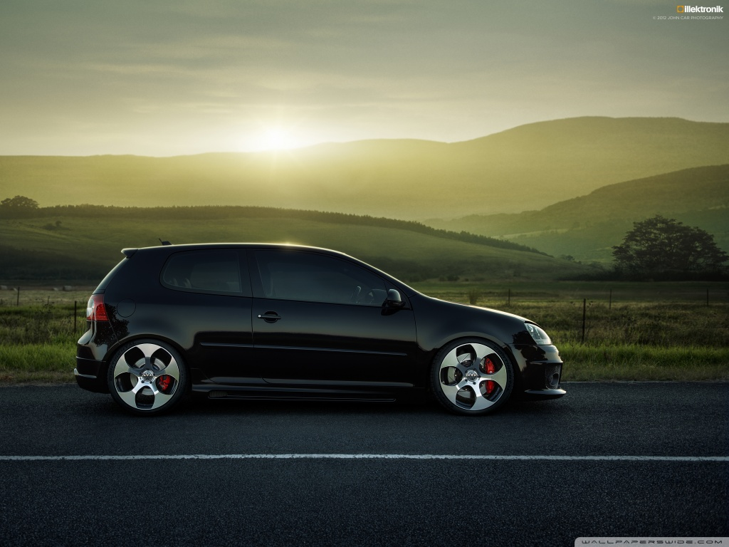 Latest And New Sport Car Wallpapers Volkswagen Golf Gti