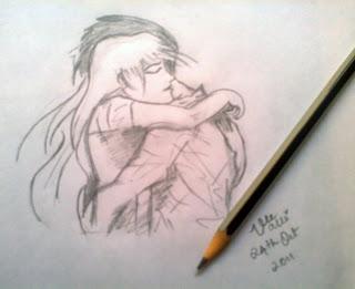 embrace sketch