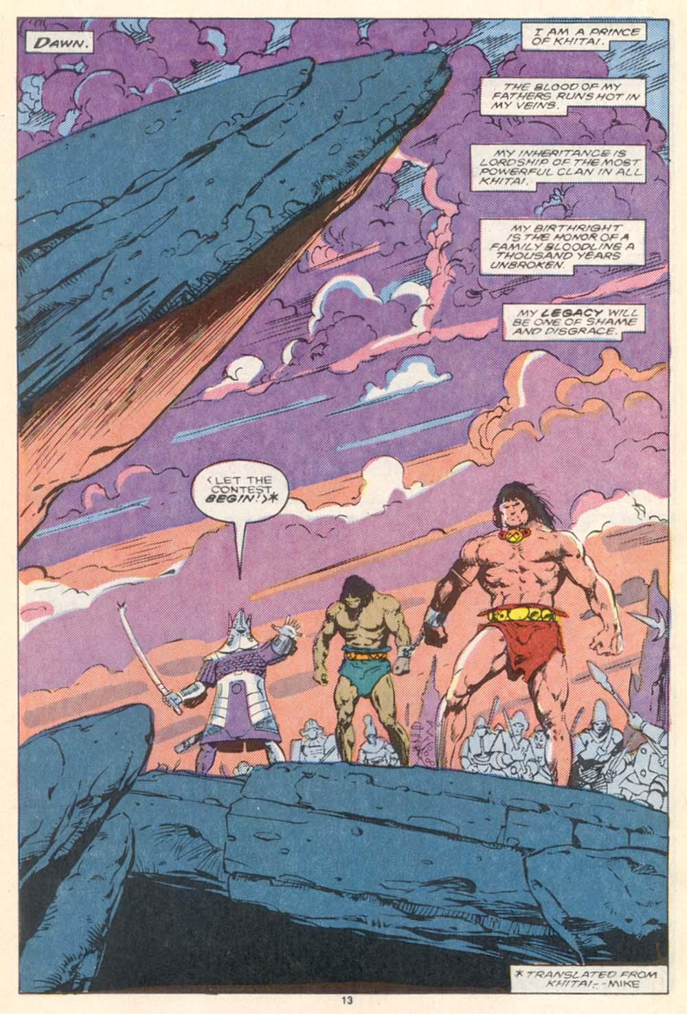 Conan the Barbarian (1970) Issue #208 #220 - English 10
