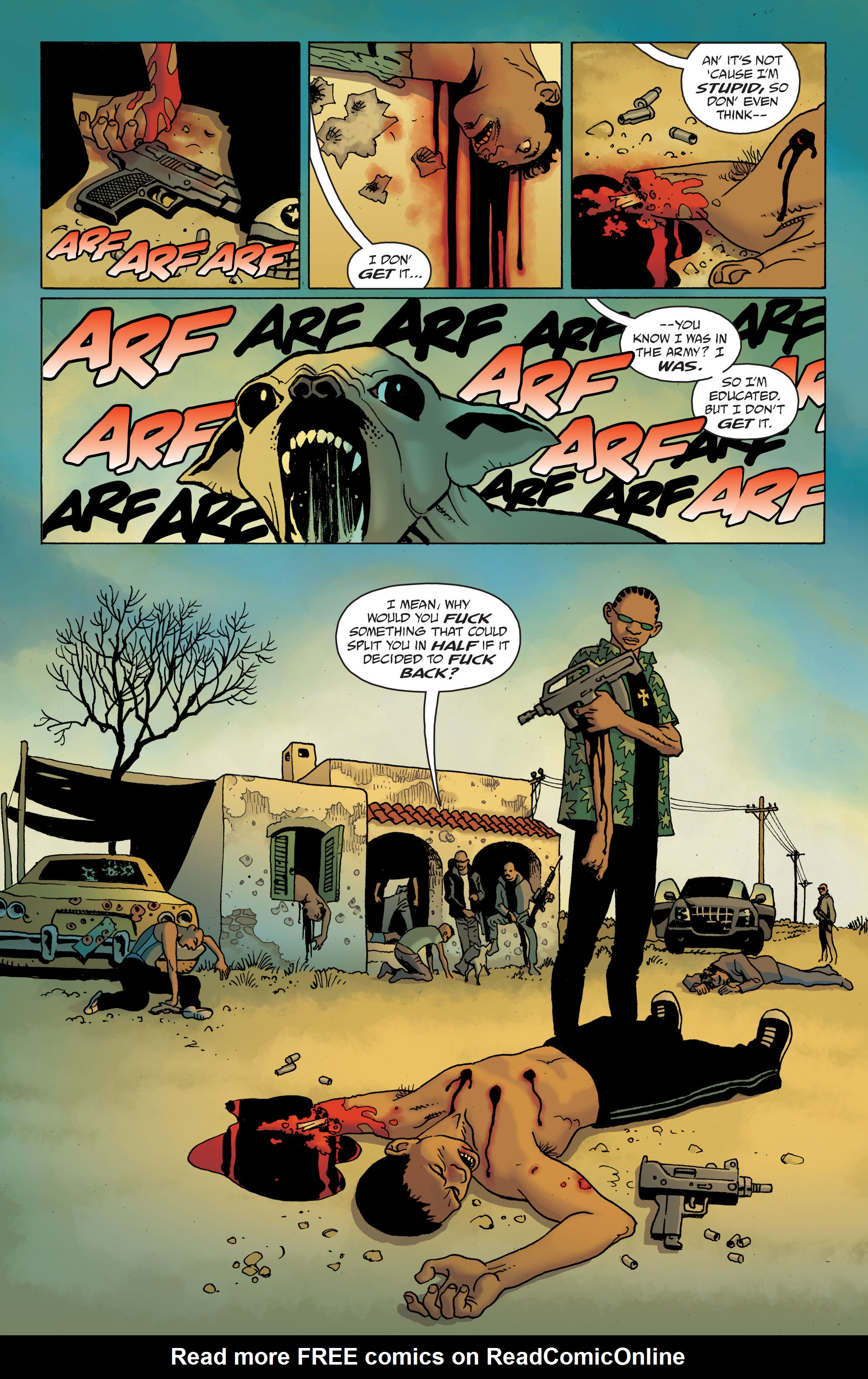 100 Bullets: Brother Lono Full Page 58