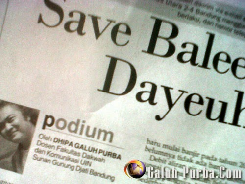 Save Dayeuhkolot dan Baleendah