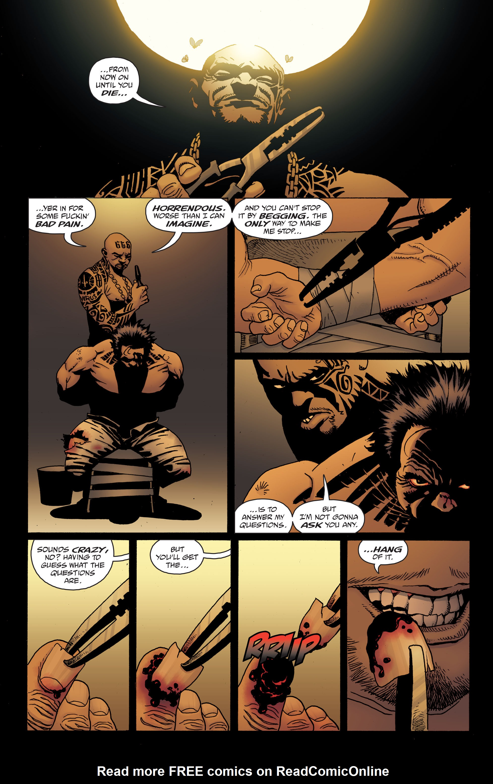 100 Bullets: Brother Lono Full Page 152
