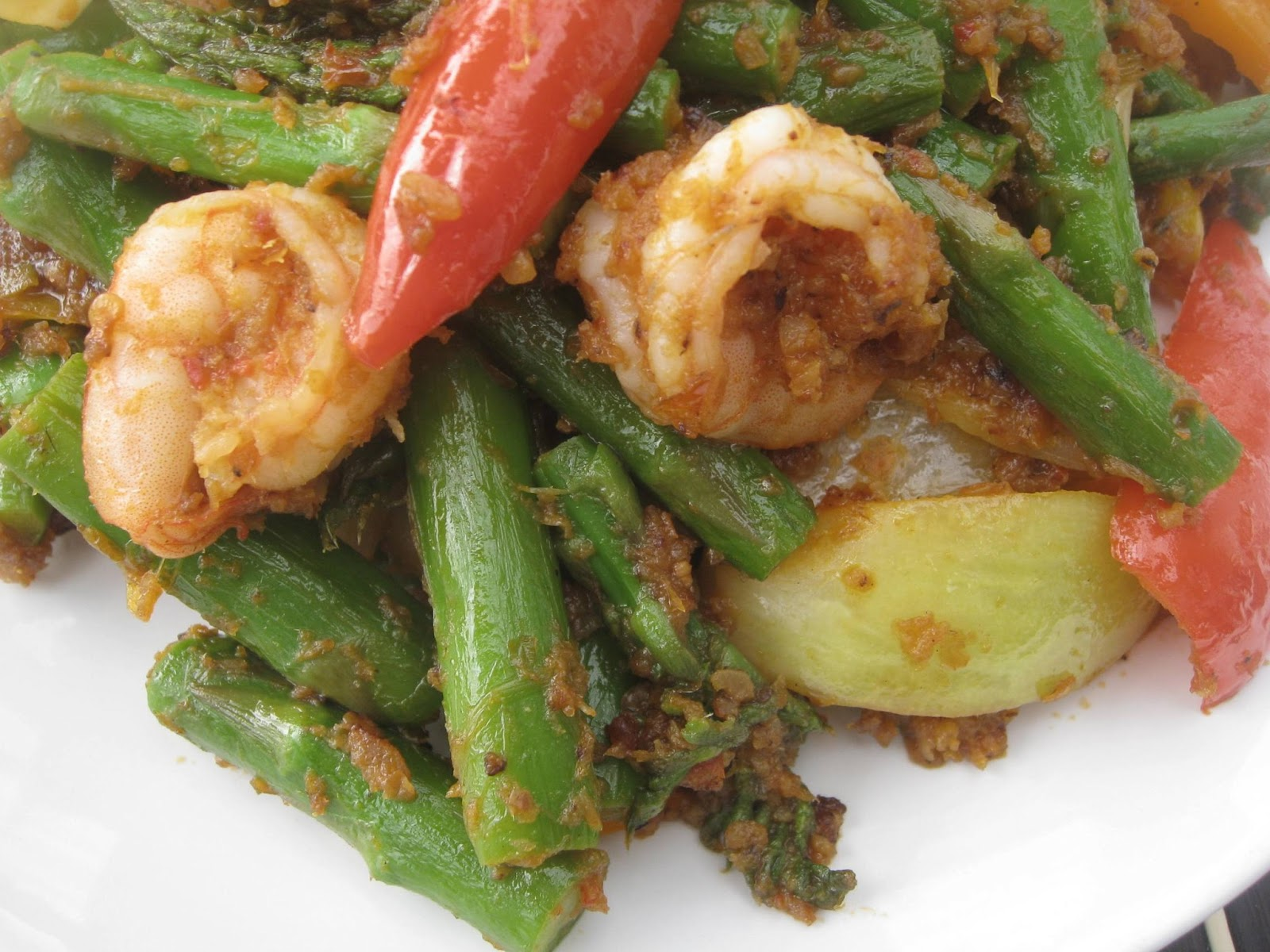 Sambal Asparagus Recipes — Dishmaps