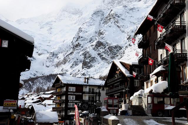 saas fee hotel ski