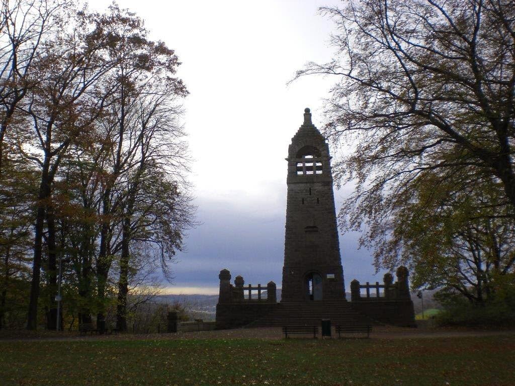 Hunderunde Herbst Ruhrgebiet