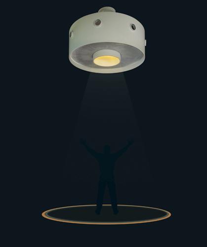Komal Vasa's Light installation at Salone 2013