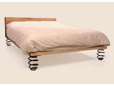 Bed on Springs