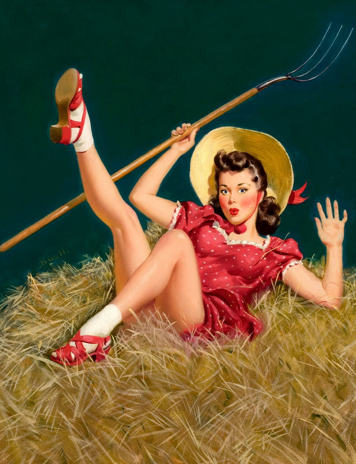 Pin Up and Cartoon Girls: www.pinupcartoongirls.com/2011/05/classic-american-pin-up-farm...