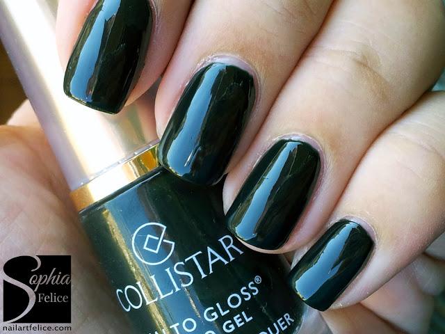 collezione Collistar Bellezza Italiana - smalto gloss effetto gel Verde Paola n°588_06