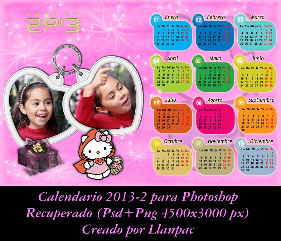 ... infantil Hello Kitty 2013 para Photoshop (Psd+Png) Actualizado