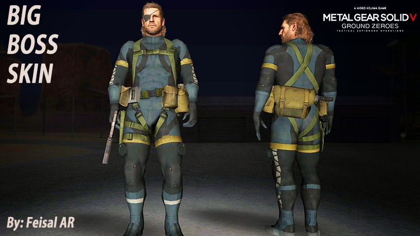 naked snake big boss gta skin