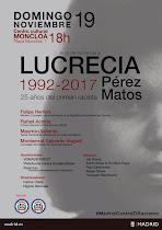 Homenaje a Lucrecia Pérez (2017)