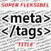 Membuat TITLE blog yang super fleksibel
