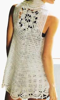 TEJIDOS CROCHET: Chaleco circular crochet