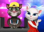 Talking Tom Disco Party