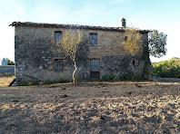 La façana nord de Ca l'Oliva