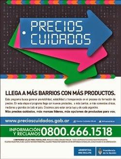 PRECIOS CUIDADOS