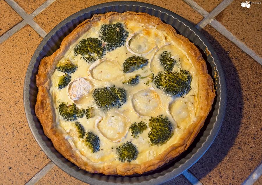 Cocinando con mjose quich de brocoli y queso de cabra - Nata para cocinar mercadona ...