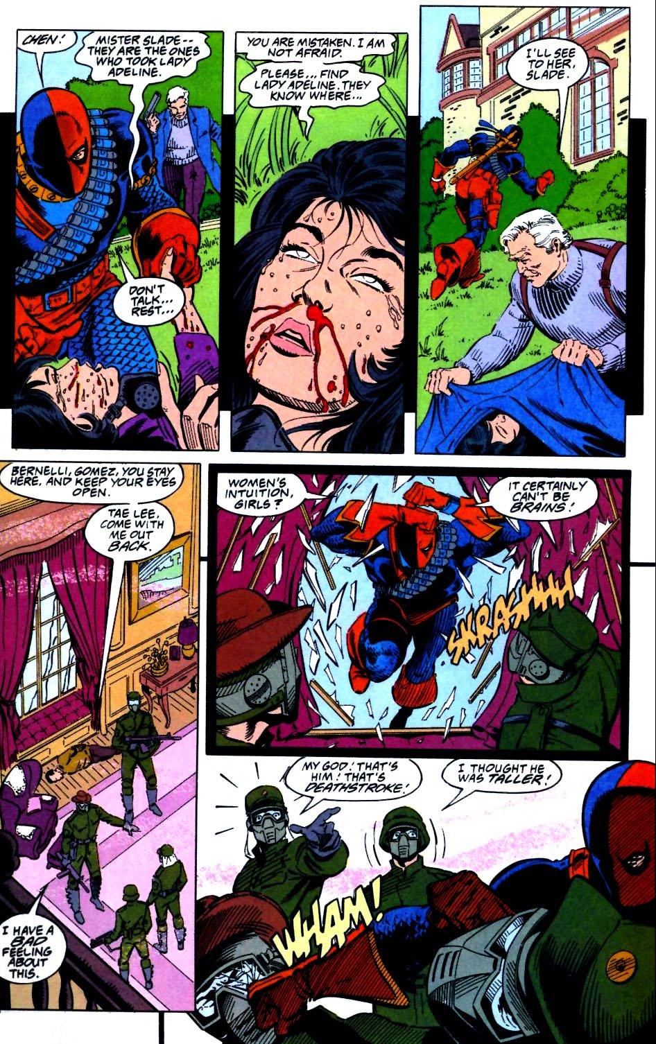 Deathstroke (1991) Issue #27 #32 - English 17