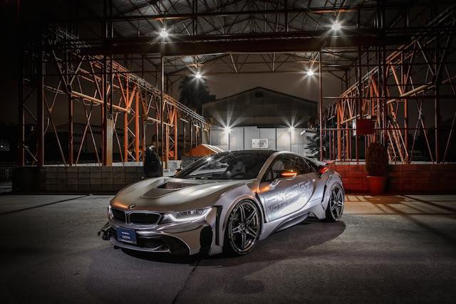 近未来的なデザインが印象的なBMW i8のコンプリートカー「EVO i8」がスゴい!