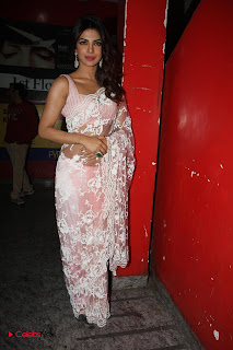 Deepika Padukone and Priyanka Chopra Stills at Race 2 Special Screening 0010