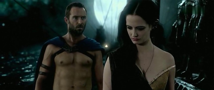 Eva Green and Sullivan Stapleton  in 300: Rise of an Empire by ocean's movie review