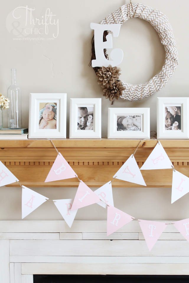 Cute decor ideas for a first birthday party or any girls birthday party