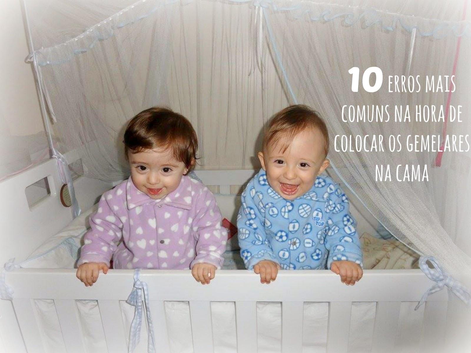 10 Erros mais comuns na hora de colocar os gemelares na cama