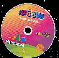 toko buku rahma: buku CD ANIMUS MATEMATIKA KELAS 1, 2, 3  SD