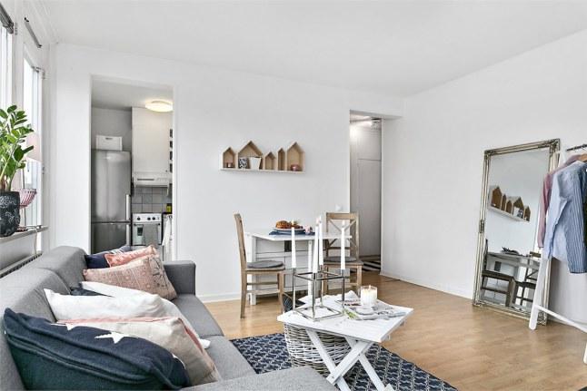 Deco ideas para decorar un peque o piso con aire marinero for Vivir en un piso pequeno con ninos