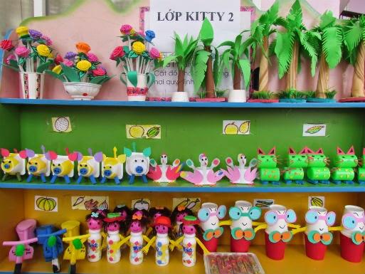 đồ dùng đồ chơi sáng tạo trường mầm non