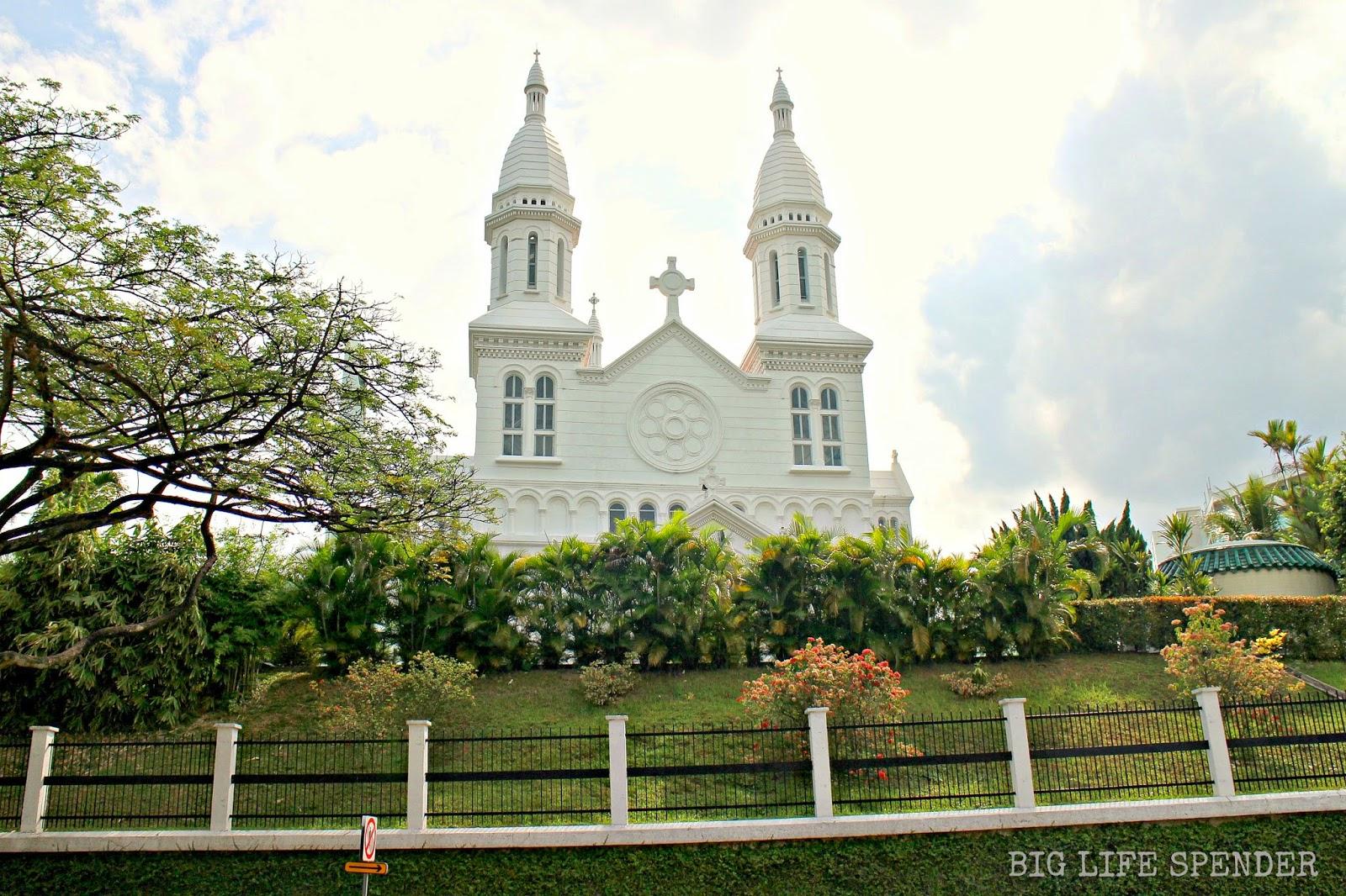 BIG LIFE SPENDER: MY TOP SCENIC CATHOLIC CHURCHES IN SINGAPORE