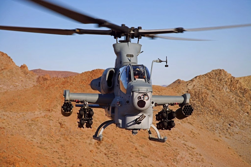 AH-1Z Viper US Marine Attack Helicopter