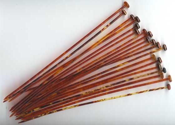 ... tortoiseshell celluloid knitting needles knitting needles australian