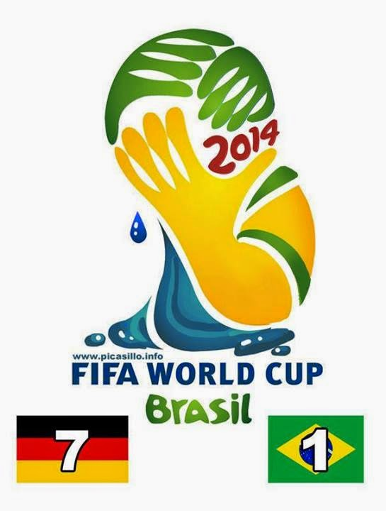 Los Memes de la Humillante Derrota de Brasil por Alemania, Mundial Brasil 2014