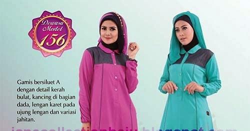 Qirani dewasa busana muslim trendy dan anggun Baju gamis elif