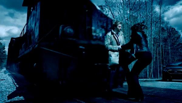 Tren fantasma en Constantine 1x01