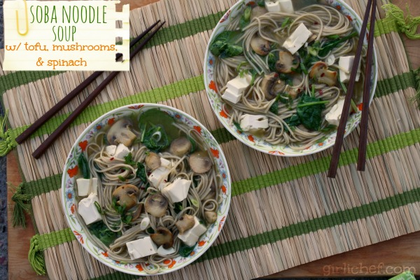Soba Noodle Soup With Spinach And Smoked Trout Recipe — Dishmaps