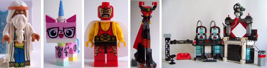LEGO movie Evil Lair review