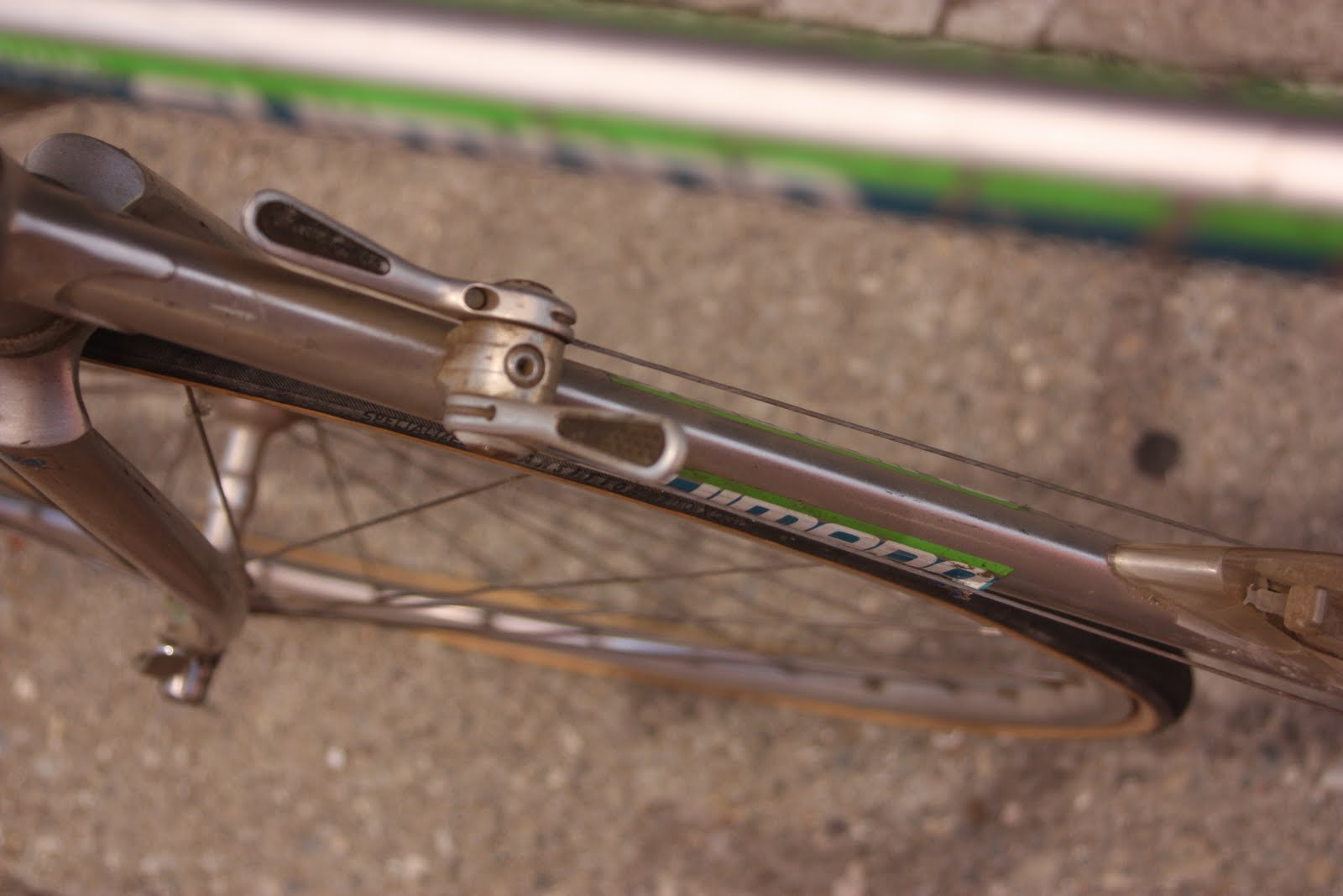 The ClaremontCyclist: Vintage and Classic: SR Bicycle with Shimano ...