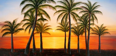 pintura-paisaje-palmeras