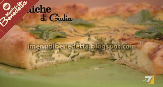 Quiche di Zucchine di Benedetta Parodi