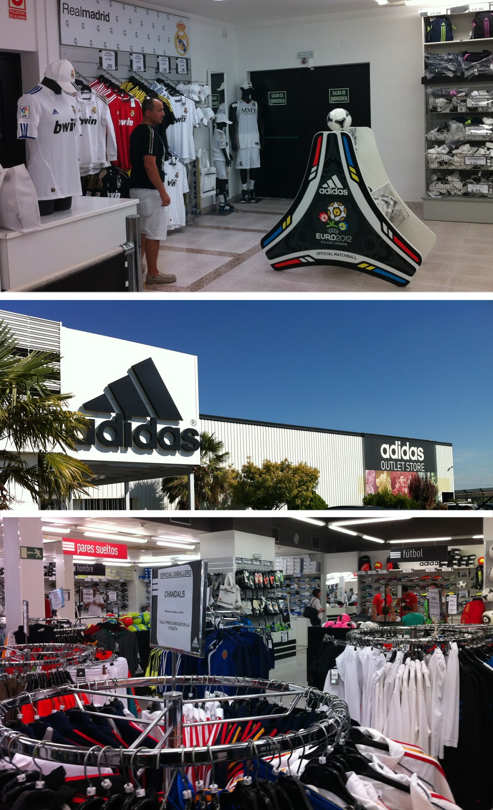 adidas outlet store caspe