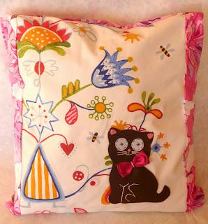 poszewka dekoracyjna kot