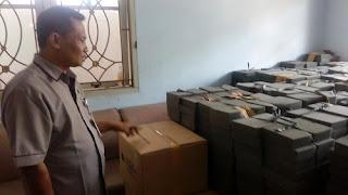 Logistik Pemilukada Sudah Mulai Diterima KPU