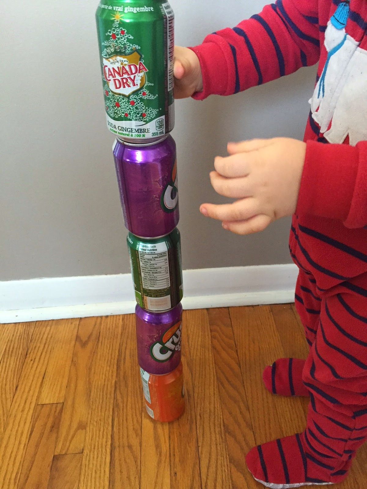 stacking pop tower