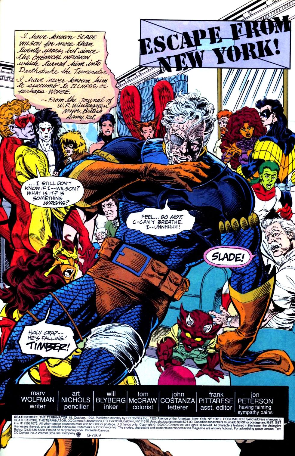 Deathstroke (1991) Issue #15 #20 - English 2
