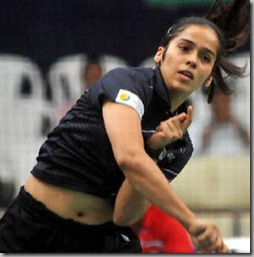 saina nehwal stomach