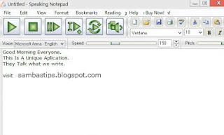 Software Untuk Membuat Notepad Berbicara